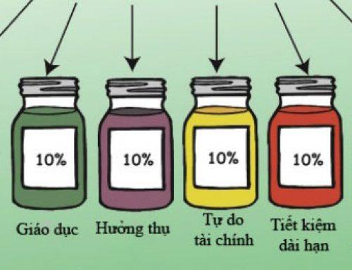 Phương pháp quản lý tài chính cá nhân 6 cái lọ – JARS